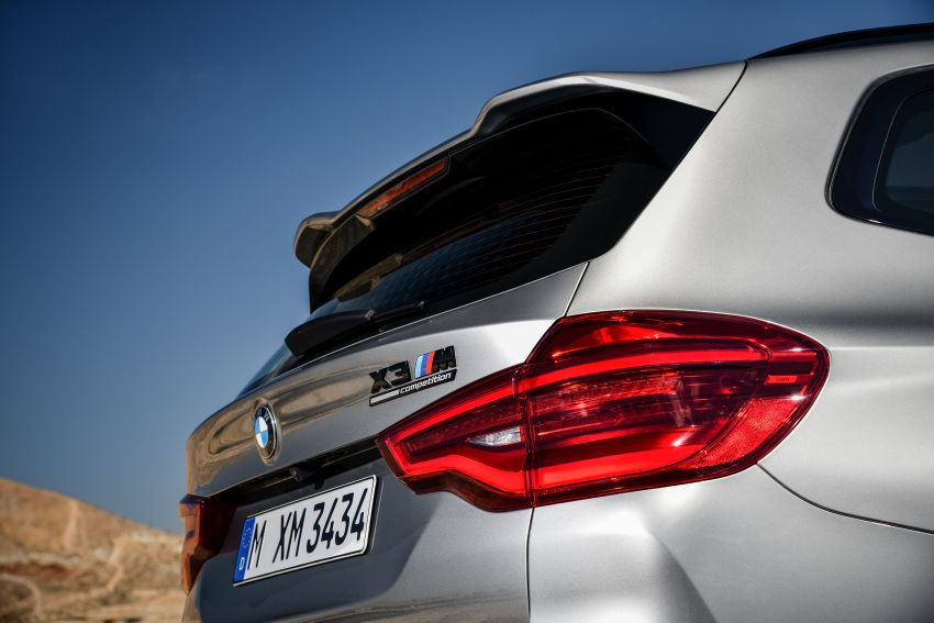F97 BMW X3 M, F98 X4 M revealed with up to 510 hp Image #921500