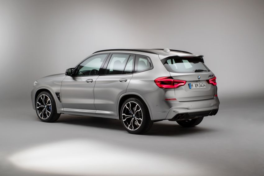 F97 BMW X3 M, F98 X4 M revealed with up to 510 hp Image #921503