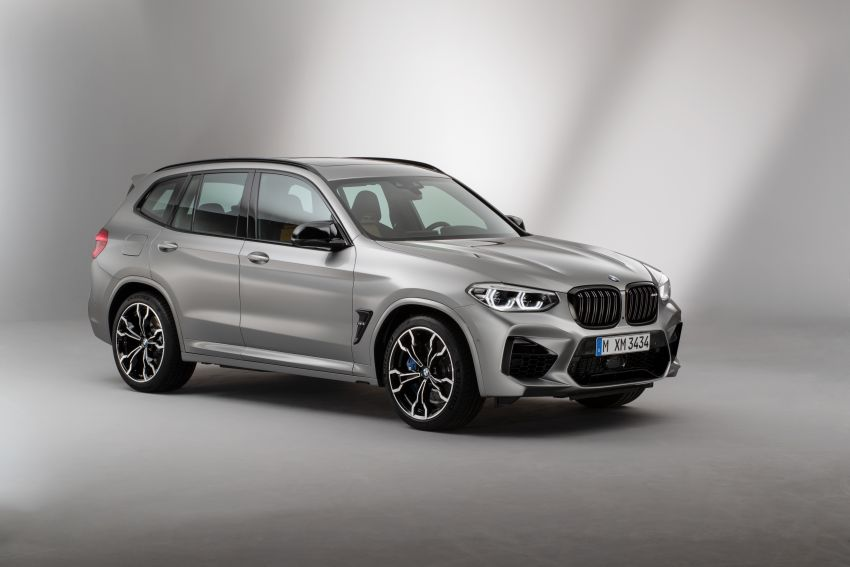 F97 BMW X3 M, F98 X4 M revealed with up to 510 hp Image #921504