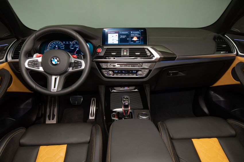 F97 BMW X3 M, F98 X4 M revealed with up to 510 hp Image #921523