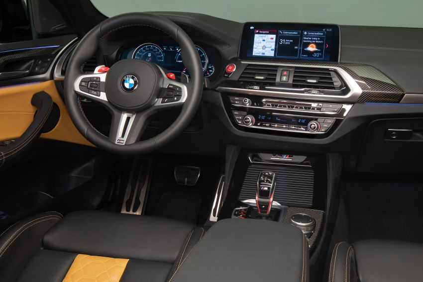 F97 BMW X3 M, F98 X4 M revealed with up to 510 hp Image #921526