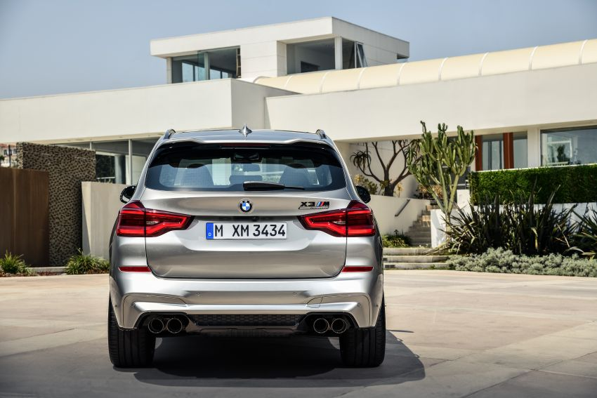 F97 BMW X3 M, F98 X4 M revealed with up to 510 hp Image #921366