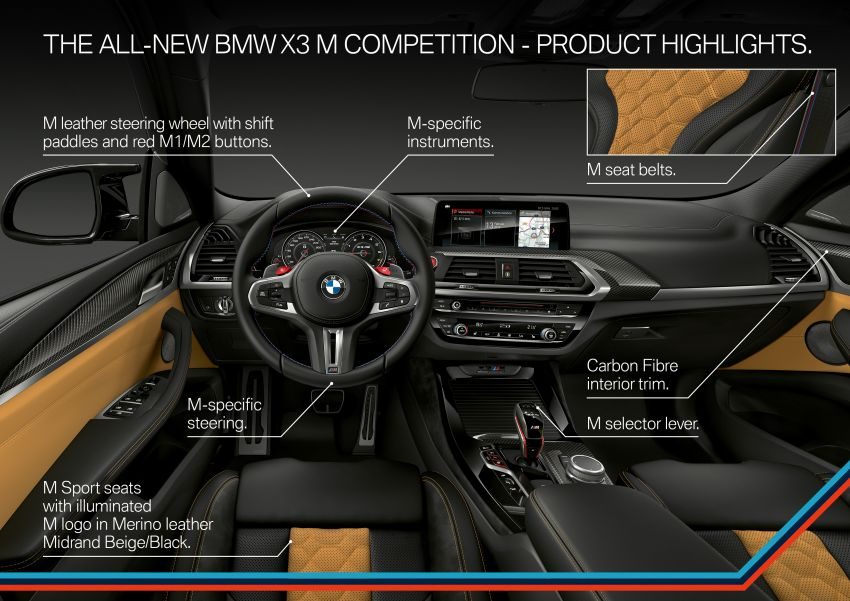 F97 BMW X3 M, F98 X4 M revealed with up to 510 hp Image #921538