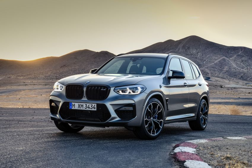 F97 BMW X3 M, F98 X4 M revealed with up to 510 hp Image #921372
