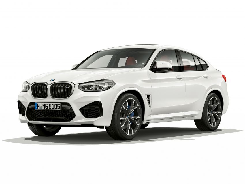 F97 BMW X3 M, F98 X4 M revealed with up to 510 hp Image #921540