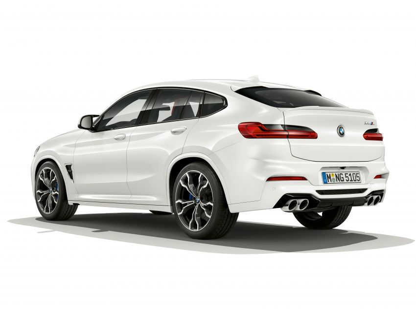 F97 BMW X3 M, F98 X4 M revealed with up to 510 hp Image #921541