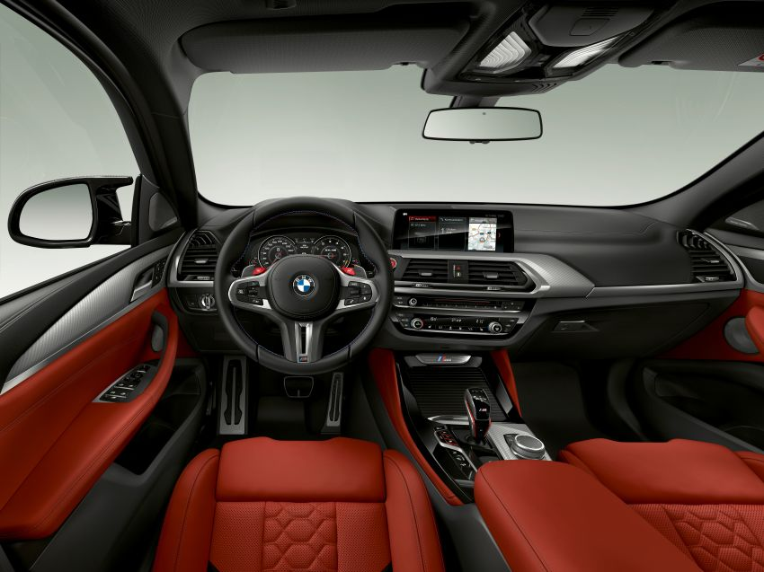 F97 BMW X3 M, F98 X4 M revealed with up to 510 hp Image #921542