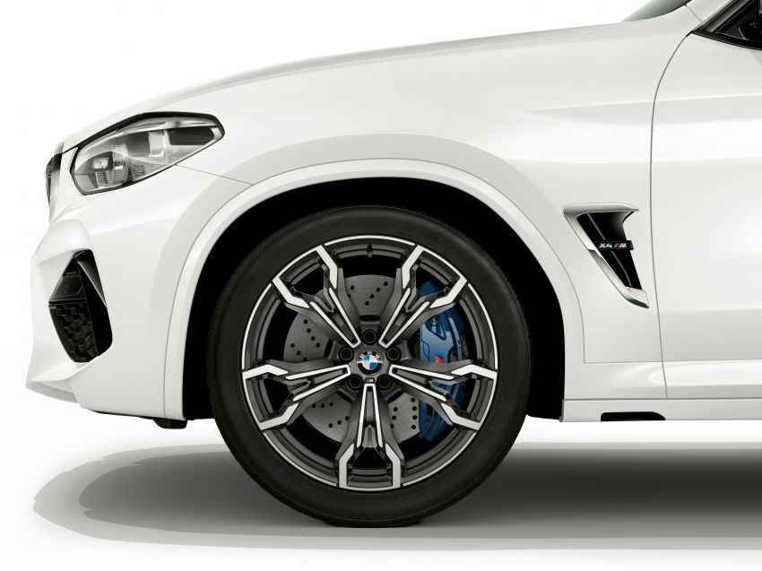 F97 BMW X3 M, F98 X4 M revealed with up to 510 hp Image #921545