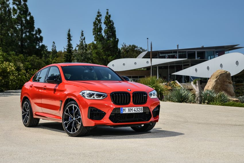 F97 BMW X3 M, F98 X4 M revealed with up to 510 hp Image #921557