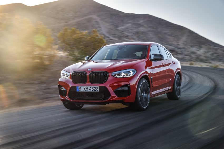 F97 BMW X3 M, F98 X4 M revealed with up to 510 hp Image #921569