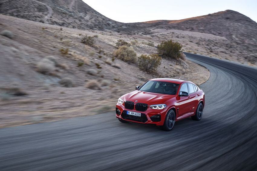 F97 BMW X3 M, F98 X4 M revealed with up to 510 hp Image #921571