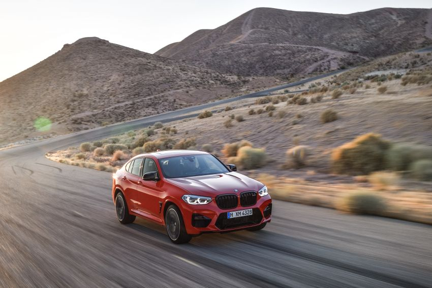 F97 BMW X3 M, F98 X4 M revealed with up to 510 hp Image #921572