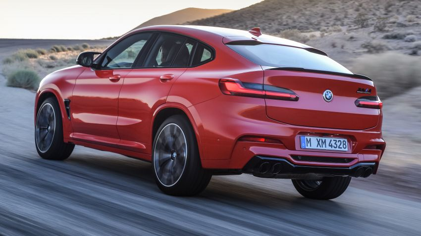 F97 BMW X3 M, F98 X4 M revealed with up to 510 hp Image #921573