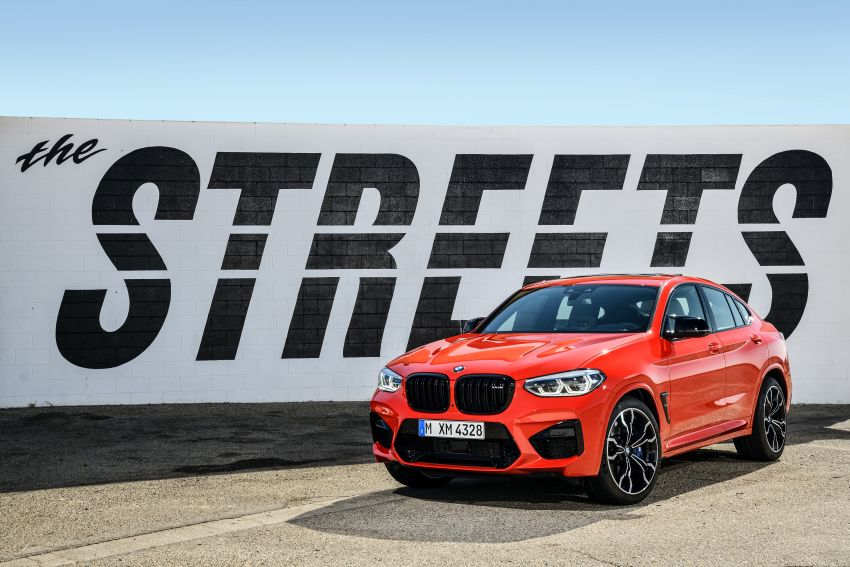 F97 BMW X3 M, F98 X4 M revealed with up to 510 hp Image #921578