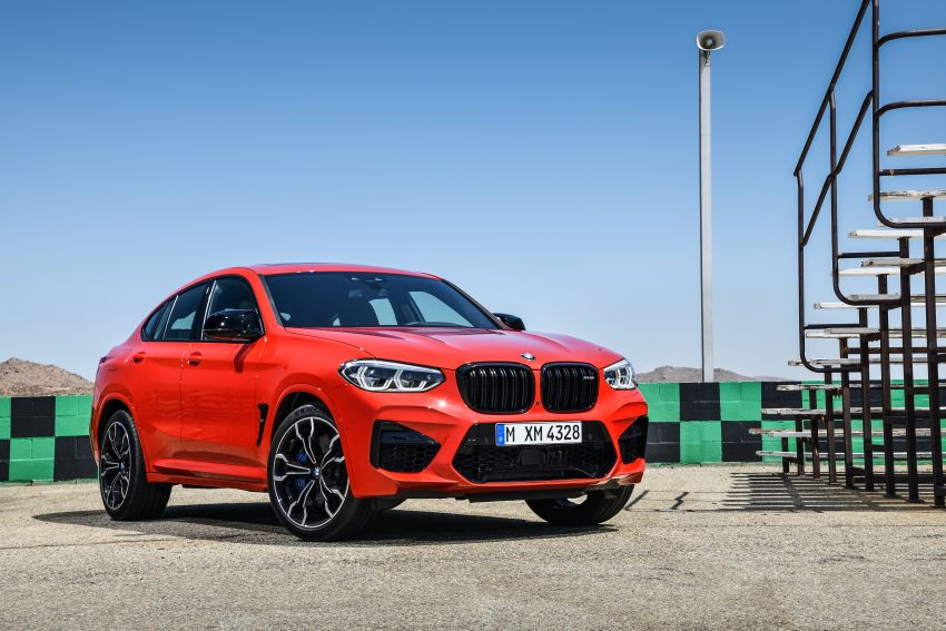 F97 BMW X3 M, F98 X4 M revealed with up to 510 hp Image #921579