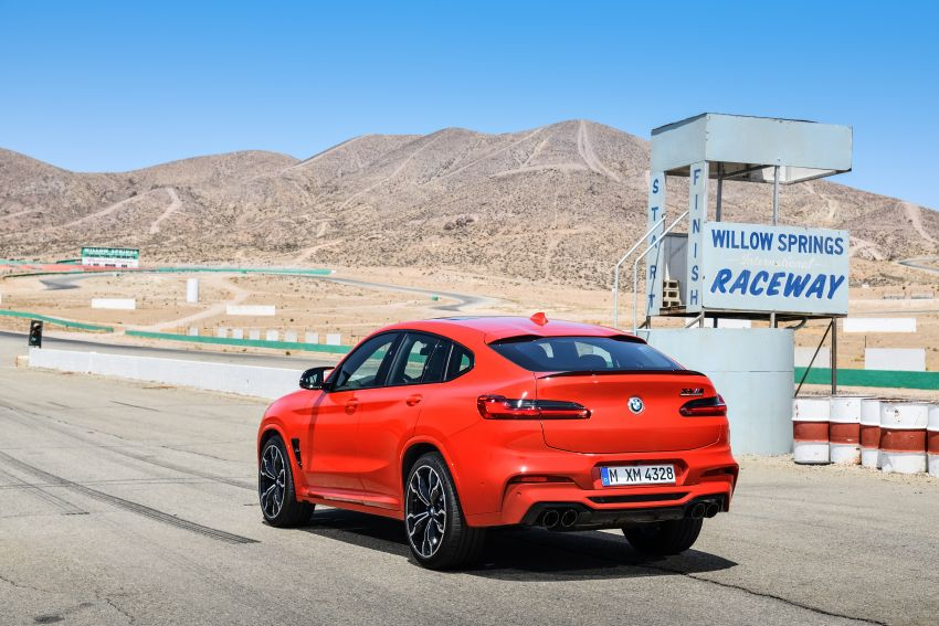 F97 BMW X3 M, F98 X4 M revealed with up to 510 hp Image #921582