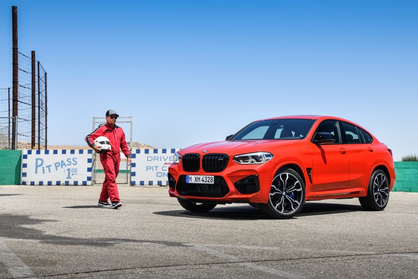 F97 BMW X3 M, F98 X4 M revealed with up to 510 hp Image #921585