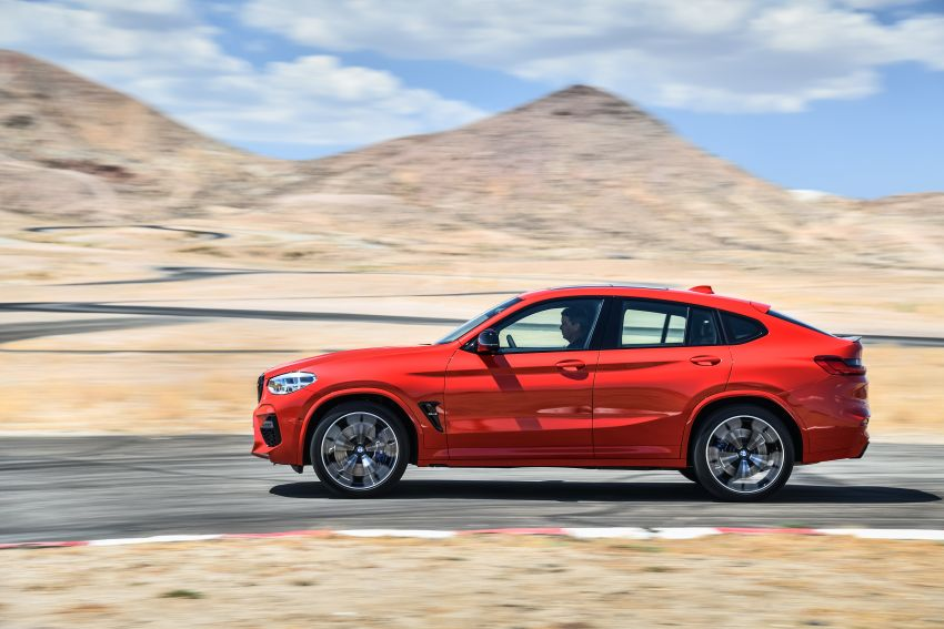 F97 BMW X3 M, F98 X4 M revealed with up to 510 hp Image #921589