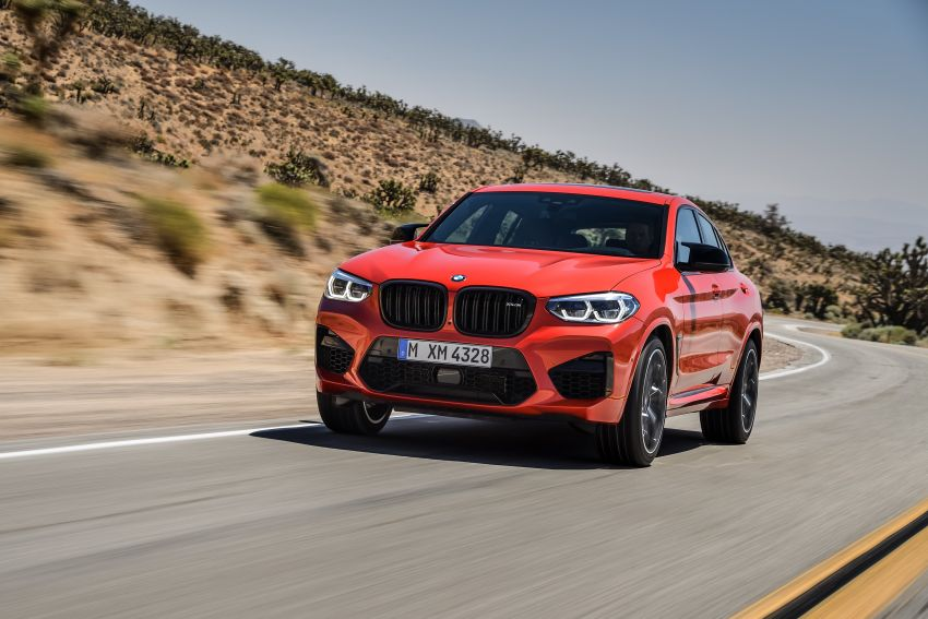 F97 BMW X3 M, F98 X4 M revealed with up to 510 hp Image #921592