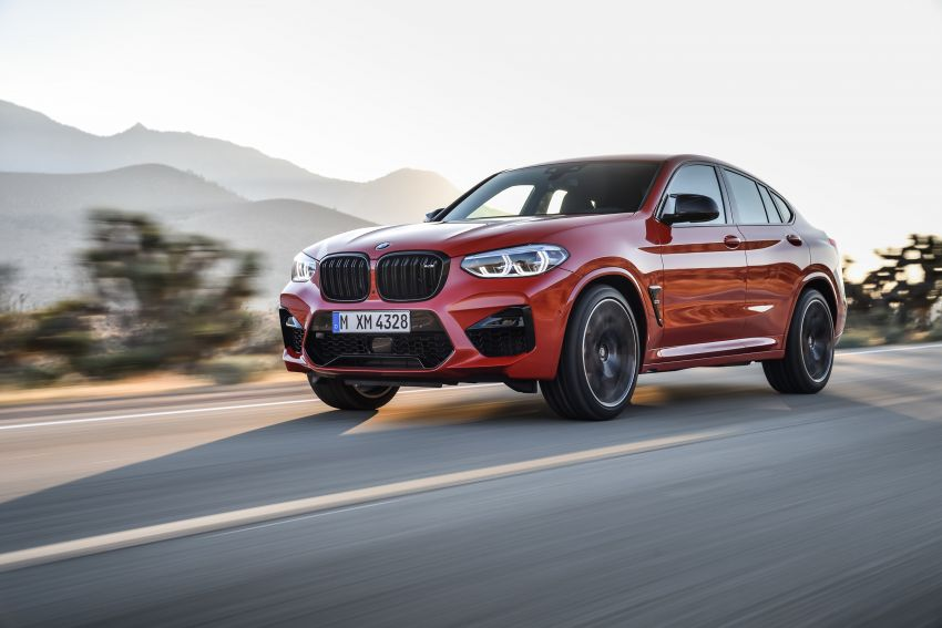F97 BMW X3 M, F98 X4 M revealed with up to 510 hp Image #921593