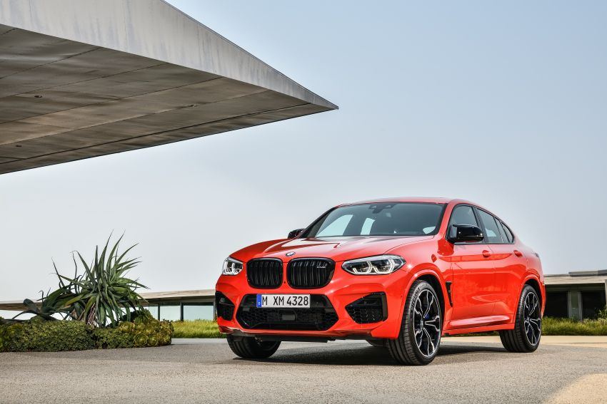F97 BMW X3 M, F98 X4 M revealed with up to 510 hp Image #921560