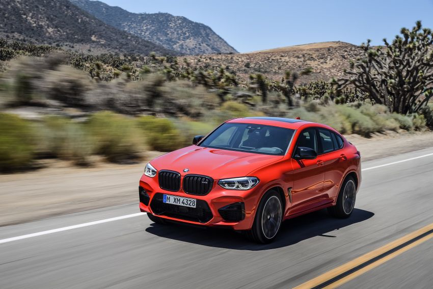 F97 BMW X3 M, F98 X4 M revealed with up to 510 hp Image #921594