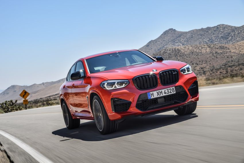 F97 BMW X3 M, F98 X4 M revealed with up to 510 hp Image #921595