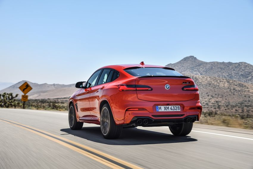 F97 BMW X3 M, F98 X4 M revealed with up to 510 hp Image #921596