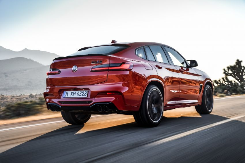 F97 BMW X3 M, F98 X4 M revealed with up to 510 hp Image #921597