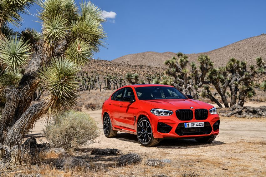 F97 BMW X3 M, F98 X4 M revealed with up to 510 hp Image #921599