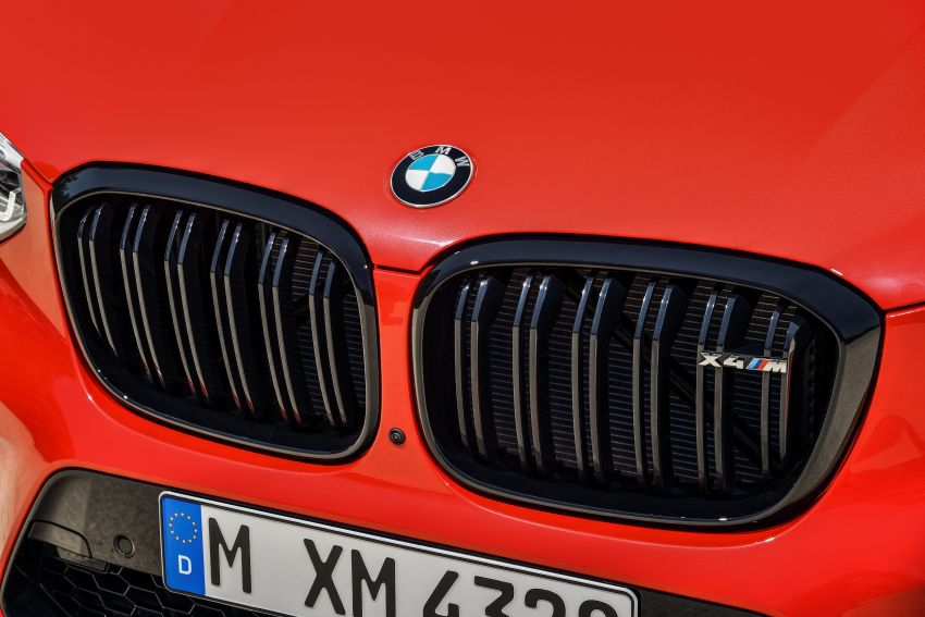 F97 BMW X3 M, F98 X4 M revealed with up to 510 hp Image #921600