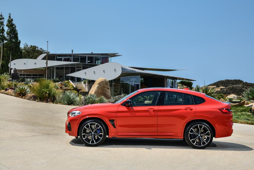 F97 BMW X3 M, F98 X4 M revealed with up to 510 hp Image #921561