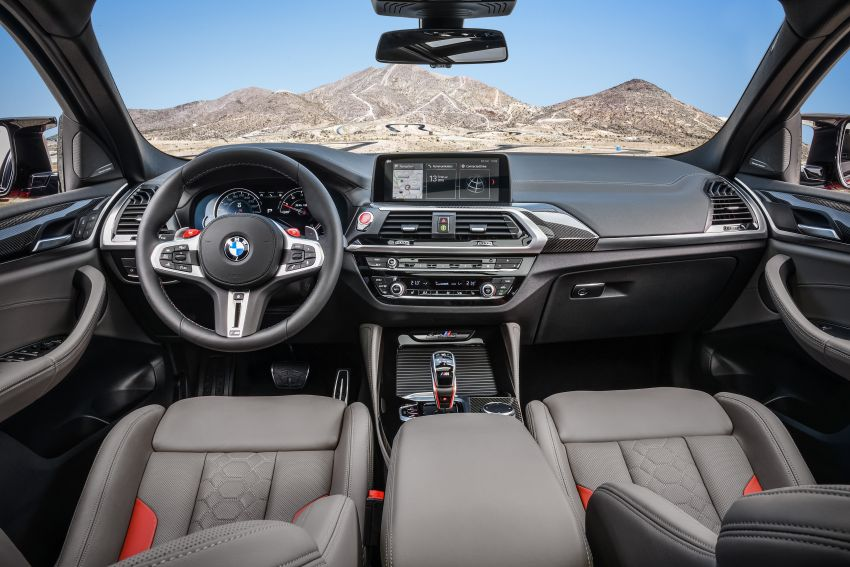 F97 BMW X3 M, F98 X4 M revealed with up to 510 hp Image #921606