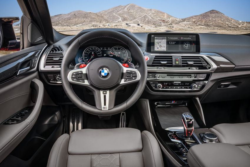 F97 BMW X3 M, F98 X4 M revealed with up to 510 hp Image #921609