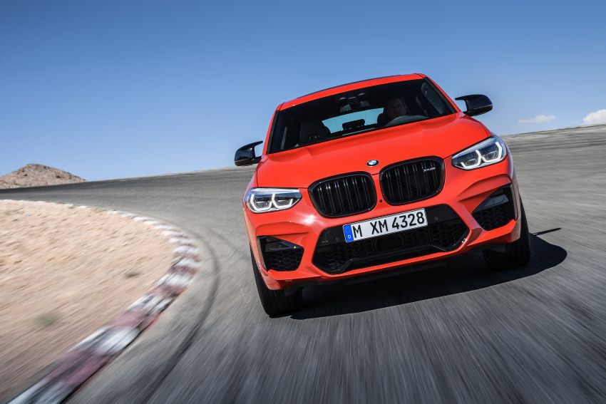 F97 BMW X3 M, F98 X4 M revealed with up to 510 hp Image #921562