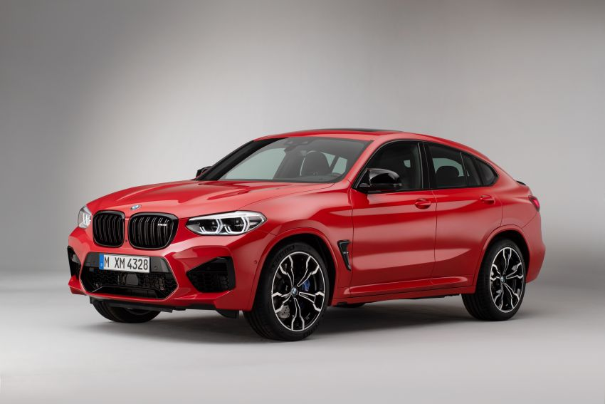 F97 BMW X3 M, F98 X4 M revealed with up to 510 hp Image #921621