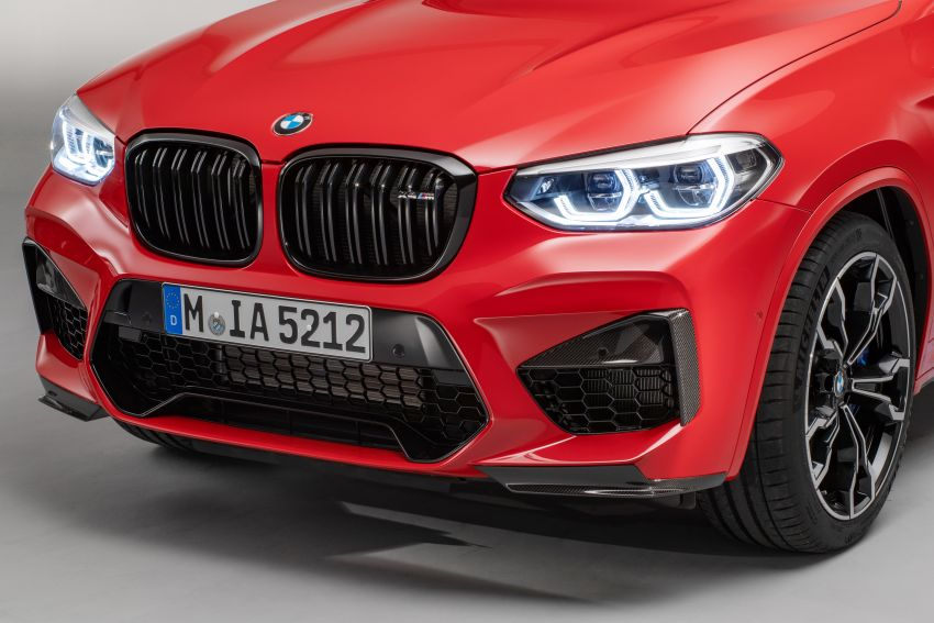F97 BMW X3 M, F98 X4 M revealed with up to 510 hp Image #921627