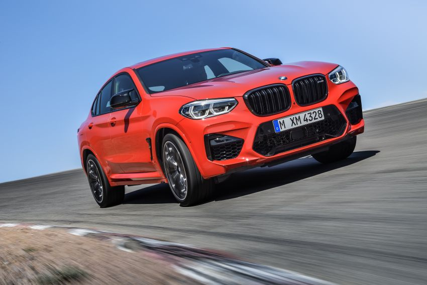 F97 BMW X3 M, F98 X4 M revealed with up to 510 hp Image #921564