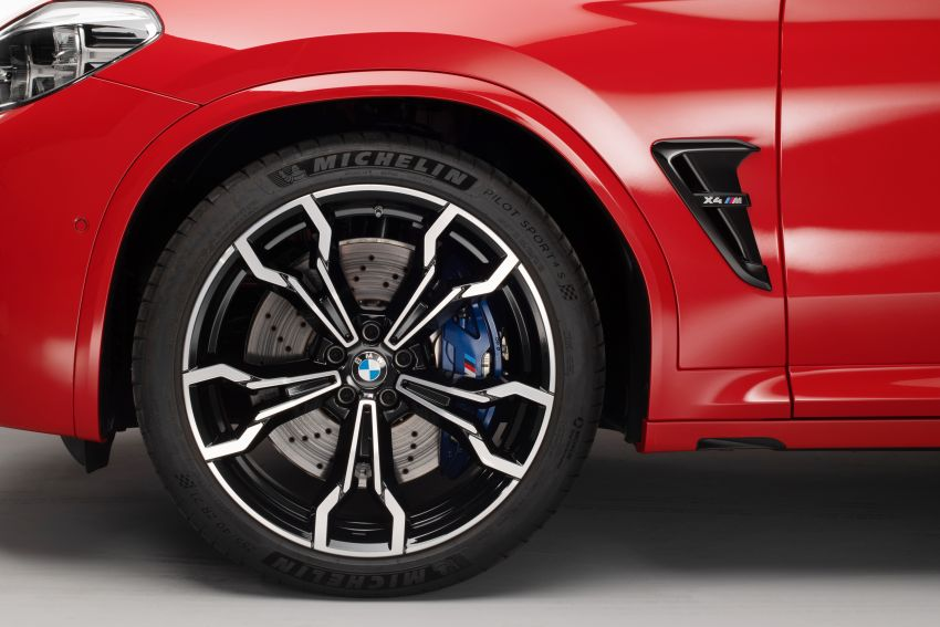 F97 BMW X3 M, F98 X4 M revealed with up to 510 hp Image #921633