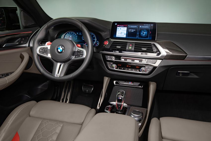 F97 BMW X3 M, F98 X4 M revealed with up to 510 hp Image #921640