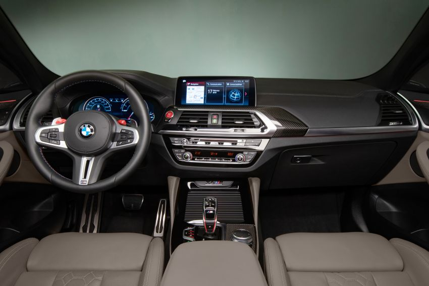 F97 BMW X3 M, F98 X4 M revealed with up to 510 hp Image #921641