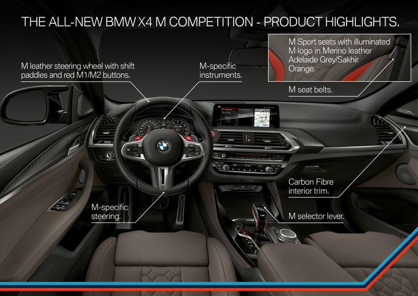 F97 BMW X3 M, F98 X4 M revealed with up to 510 hp Image #921644