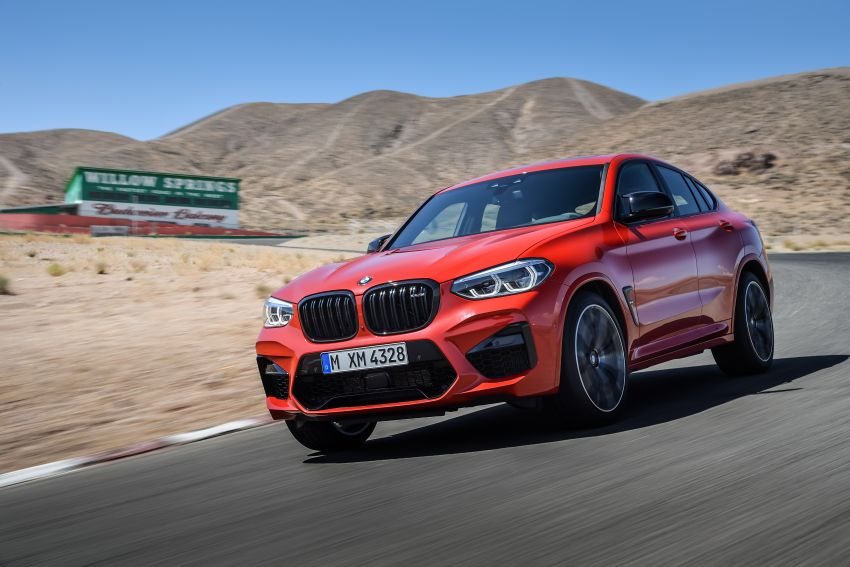 F97 BMW X3 M, F98 X4 M revealed with up to 510 hp Image #921567