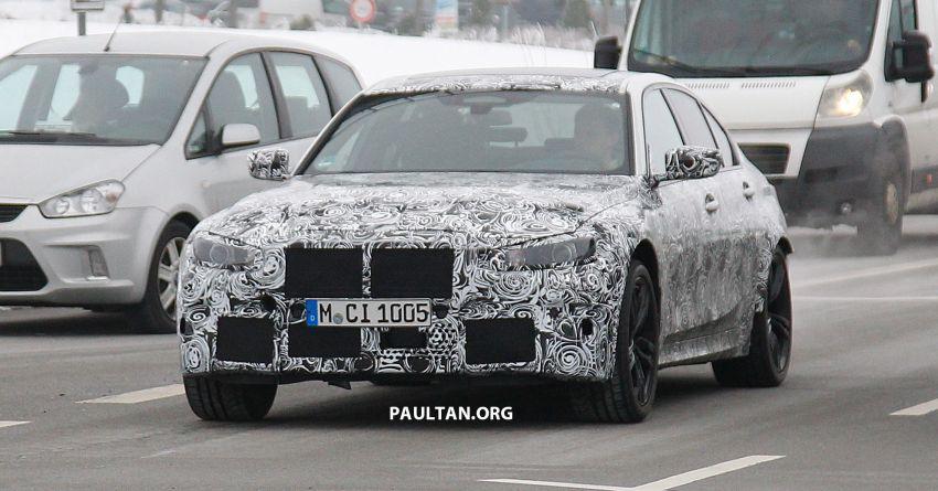 SPIED: G80 BMW M3 – 3.0L inline-six, 480 hp, AWD? Image #924043
