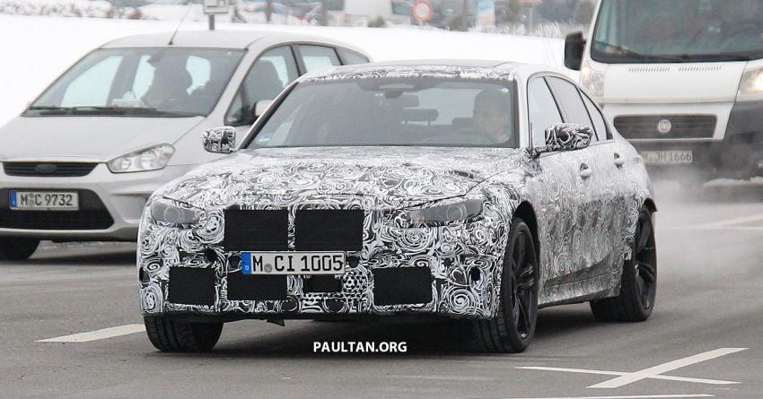 SPIED: G80 BMW M3 – 3.0L inline-six, 480 hp, AWD? Image #924044
