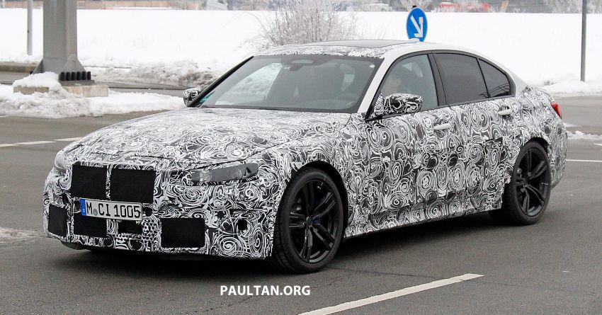 SPIED: G80 BMW M3 – 3.0L inline-six, 480 hp, AWD? Image #924046