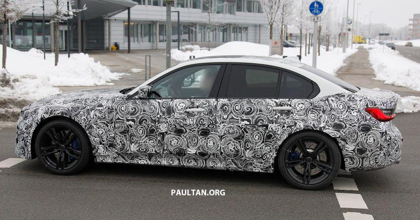 SPIED: G80 BMW M3 – 3.0L inline-six, 480 hp, AWD? Image #924048
