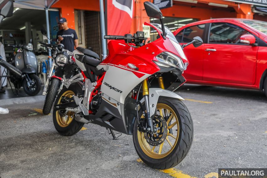 2019 GPX Racing Gentleman 200 and Demon 150 GR on sale in Malaysia – priced at RM10,978 and RM9,800 Image #925741