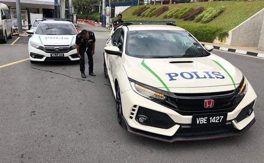 Honda Civic Type R FK8 dinilai PDRM – ganti Mitsubishi Lancer Evo X sebagai Helang Lebuhraya? Image #923931