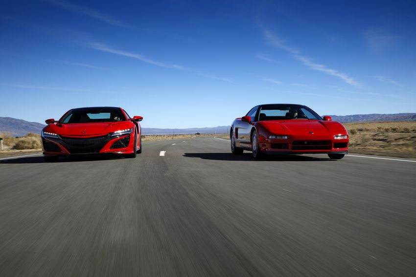 VIDEO: Honda NSX celebrates its 30th anniversary Image #920111
